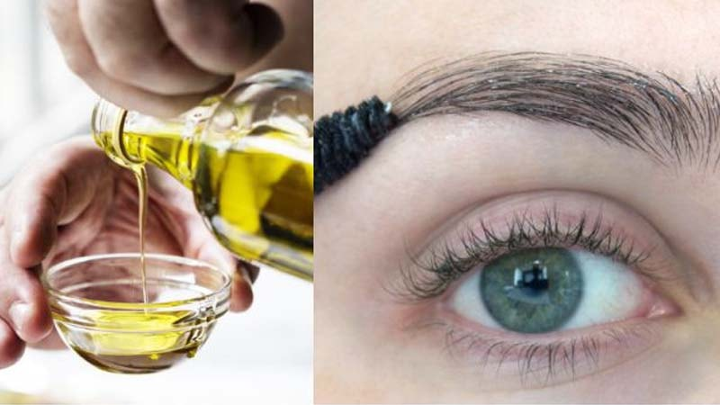 minyak zaitun untuk menebalkan alis mata