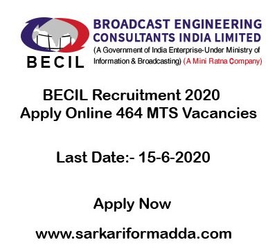 BECIL-Recruitment-2020