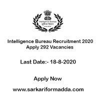 Intelligence-Bureau-Recruitment-2020