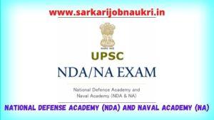 UPSC NDA Recruitment