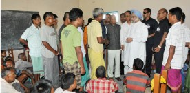 The Prime Minister, Dr. Manmohan Singh meeting the violence-hit of….