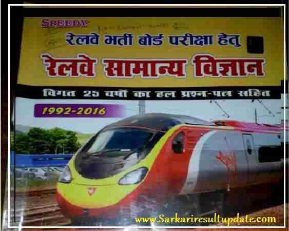 Railway GS ,Gk Book