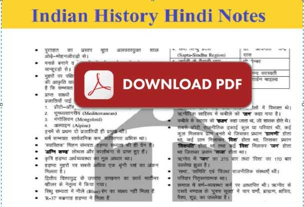 History NCERT Book PDF For GPSC, UPSC, and Other Exam
