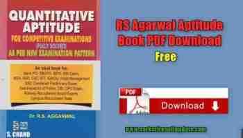 RS Agarwal Verbal & Non-Verbal Reasoning in Hindi Book PDF