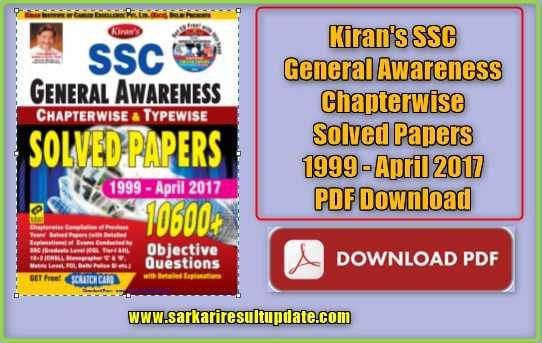 General Awareness Pdf File