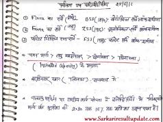 UPSC Handwriting Environment Notes