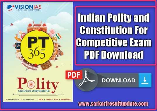 Objective Indian Polity By Laxmikant Pdf
