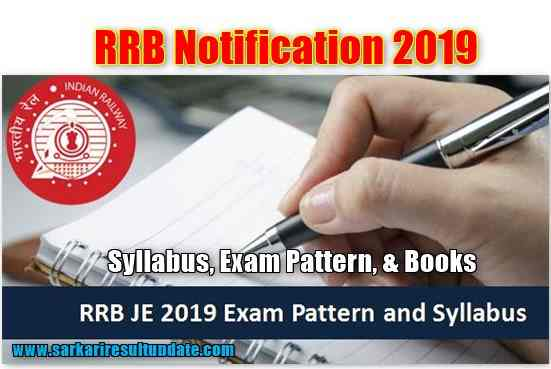 RRB Notification 2019 Complete Syllabus, Exam Pattern, & Books