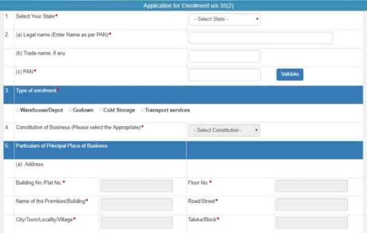 जीएसटी ई मार्ग बिल पंजीकरण नामांकन ट्रांसपरेटर