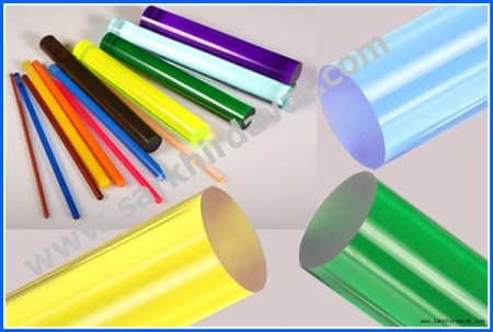 Renkli Pleksiglass Akrilik Çubuklar