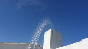 Aspersion d'eau