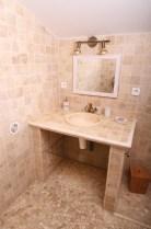 Salle de bain pose de carrelage et faience