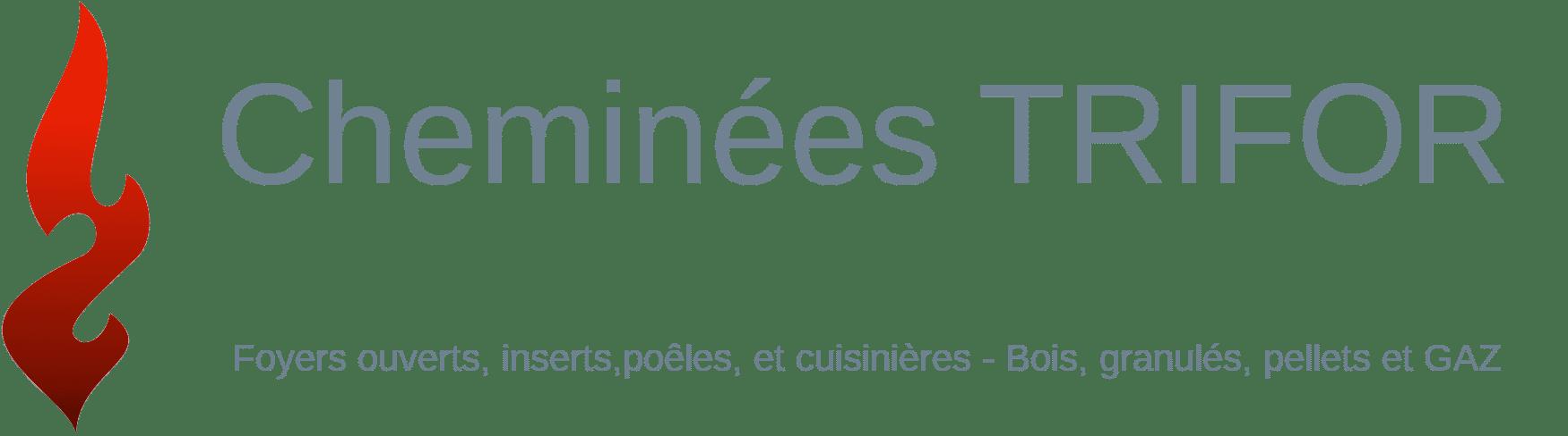 Logo cheminées TRIFOR