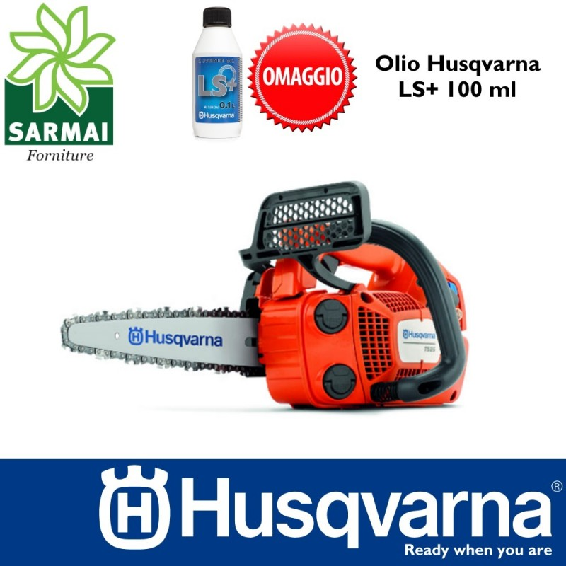 MOTOSEGA POTATURA HUSQVARNA T525 CARVING
