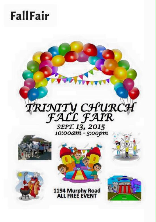 Trinity Church Fall Fair 2015