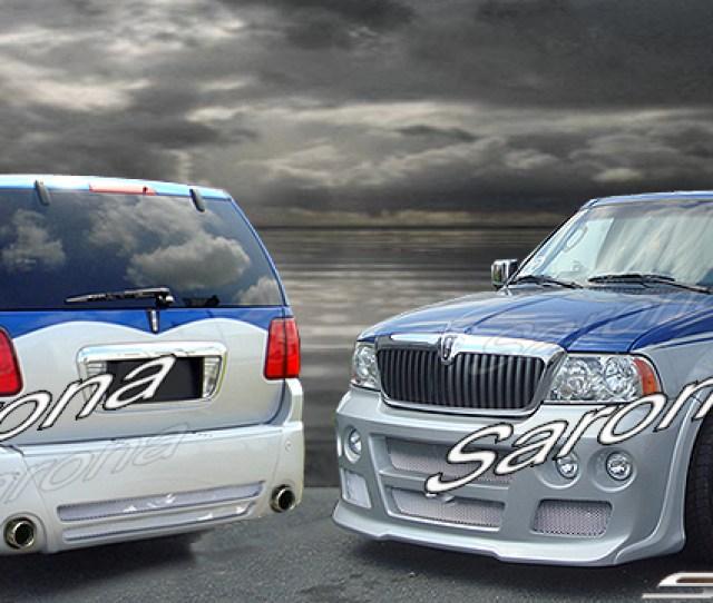 Custom Lincoln Navigator Suv Sav Crossover Body Kit 2003 2006