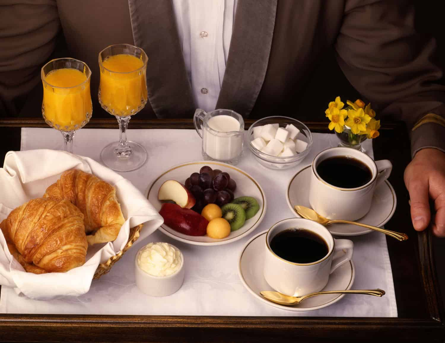 24hour room service at the Rembrandt Hotel London