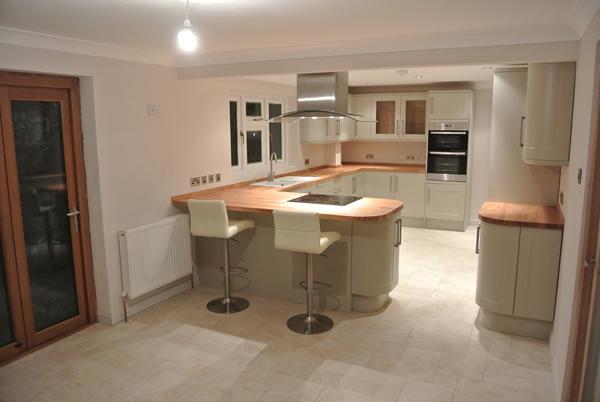 Bespoke Kitchen Installation by SAR Property Development Kent  SAR Property Development