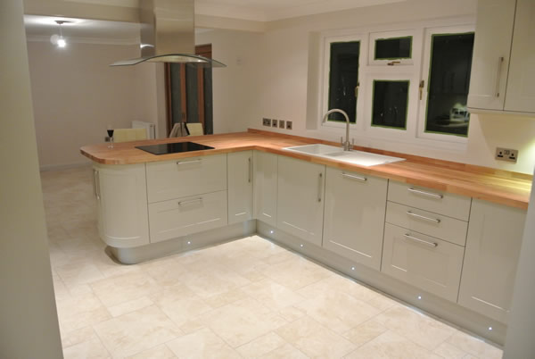 Bespoke Kitchen Installation by SAR Property Development