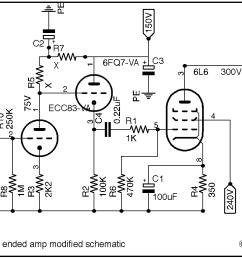 6l6 audio se modified schematic [ 1164 x 782 Pixel ]