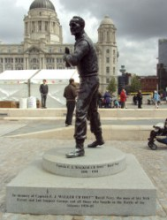 FJ Walker statue Liverpool