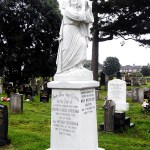 fully restored grave stone