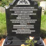 easy to maintain headstone