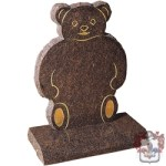 flat brown bear memorial