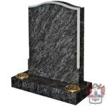 grey marble grave stone traditional