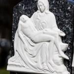 religious reliefs for grave stones