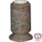 modern cylinder vase for memorial