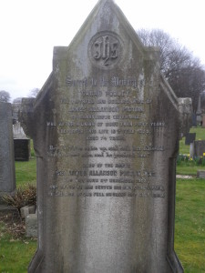 Sir James Allanson Picton Memorial, Toxteth Park Cemetery
