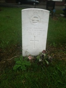 Francis Beaumont War Grave, Kirkdale Cemetery
