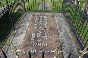 John Middleton's Grave, St Mary's Churchyard, Hale