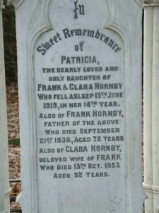 Frank Hornby's Grave, St Andrew's Church, Maghull