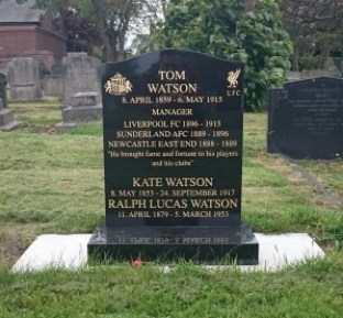 Tom Watson grave Anfield cemetery