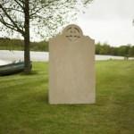 York Stone Headstone