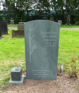 slate memorials