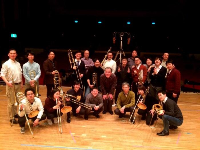 東京トロンボーンオーケストラのレコーディングに参加しました