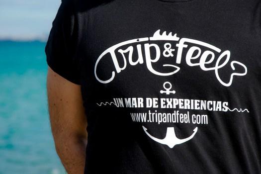 Design de t-shirt d'entreprise - Tanger Tétouan design studio - communication d'entreprise - agence de publicité Sàrsia Publicitat serigrafía