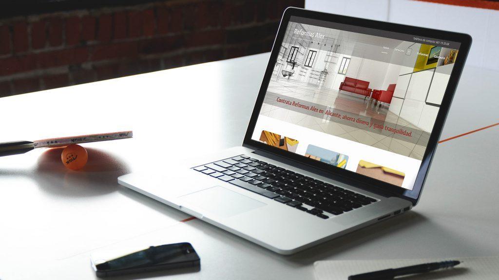 Diseño de web personal - estudio de diseño gráfico en Alicante - Agencia de publicidad