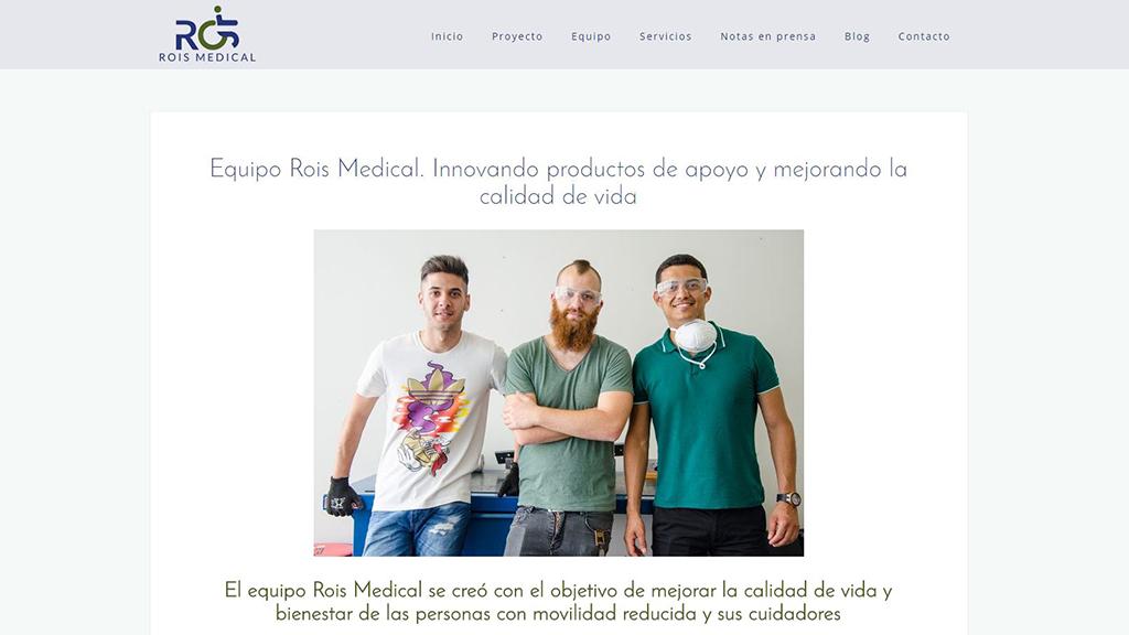 Creación de contenidos web y diseño web en Elx. Parque científico UMH. Comunicación corporativa. Estudio de diseño. Agencia de publicidad Alicante