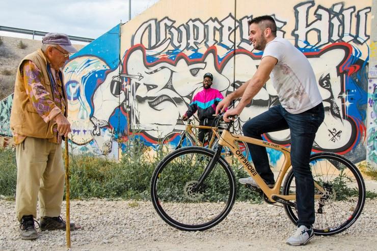 Diseño web en Xixona para marca de bicicletas - sesión fotográfica corporativa