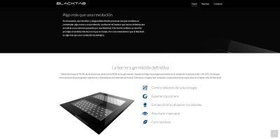 Diseño web para producto de i+d+i, diseño web en Alicante - estudio de diseño gráfico - agencia de publicidad y comunicación coporativa