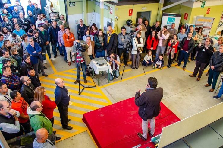 Campaña de publicidad para concurso de soldadura provincial de Alicante para Instituto Tecnológico del Metal