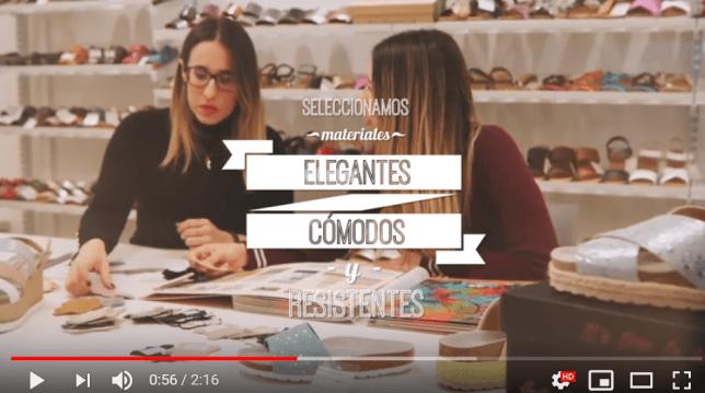 Producción de vídeo para marca de calzado Sally and Gilly