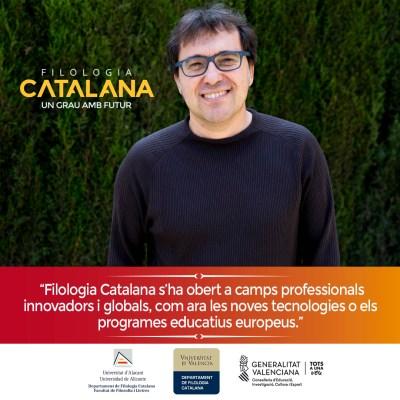 Campaña publicitaria para universidad - Filología Catalana UA y UV David Azorin