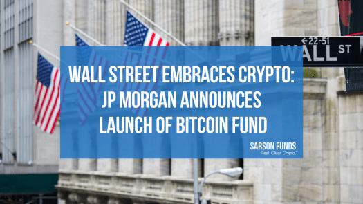 JP Morgan Announces Bitcoin Find Launch