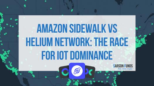 Helium Network vs Amazon Sidewalk