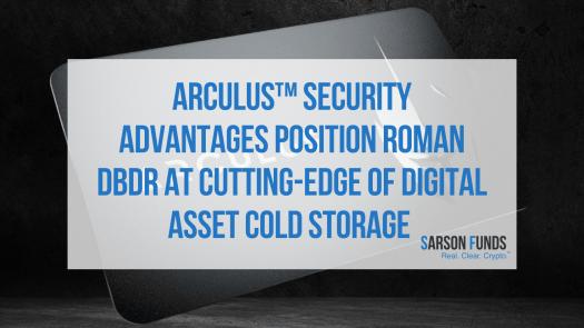 crypto cold storage Arculus